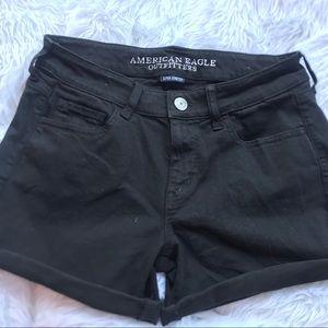 Black AE shorts